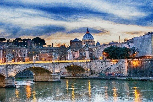 tiber most řím
