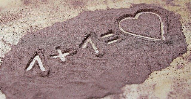součet v písku
