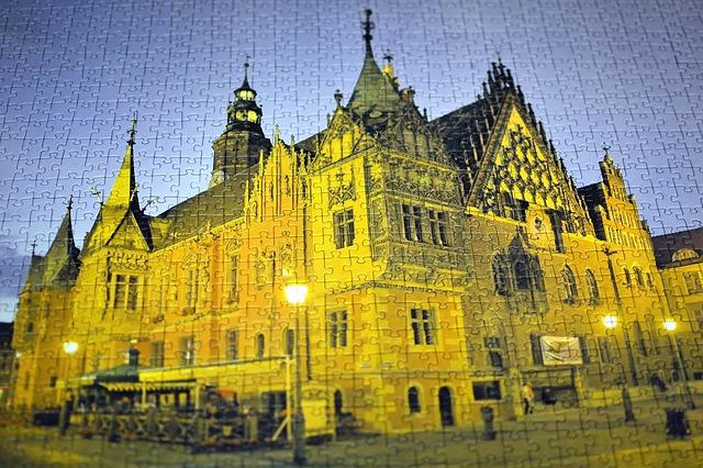 puzzle katedrála