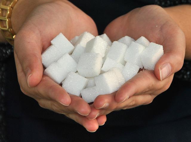 cukr v hrsti