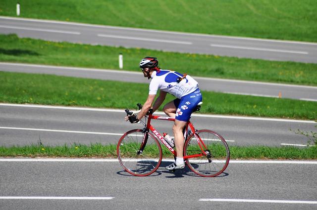 jízda na kole po silnici