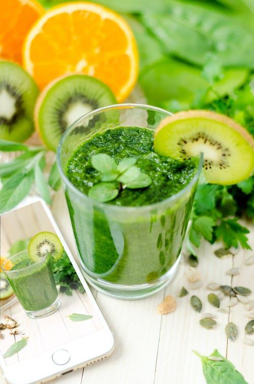 koktejl zelený