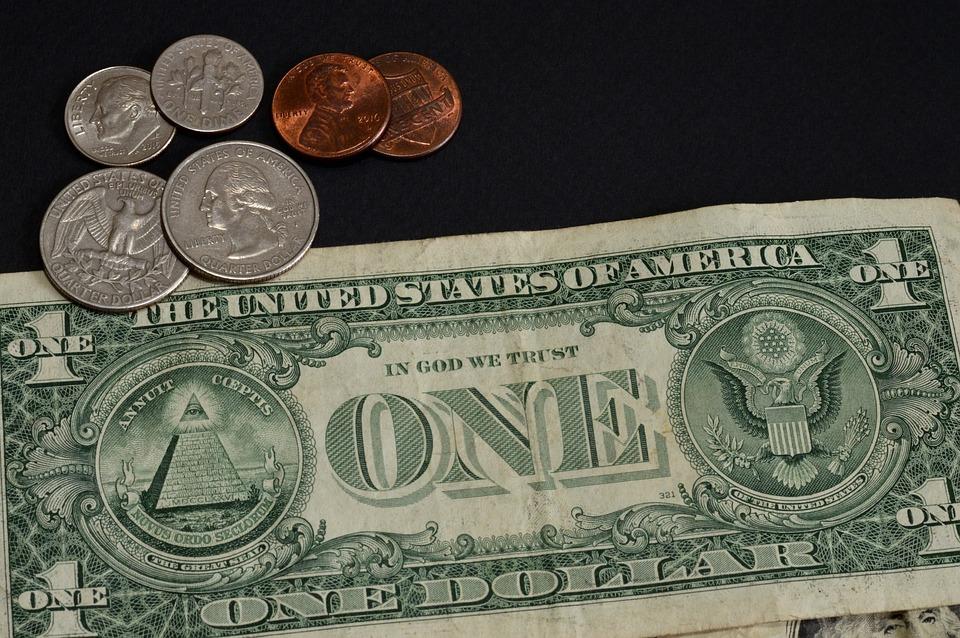 peníze USA