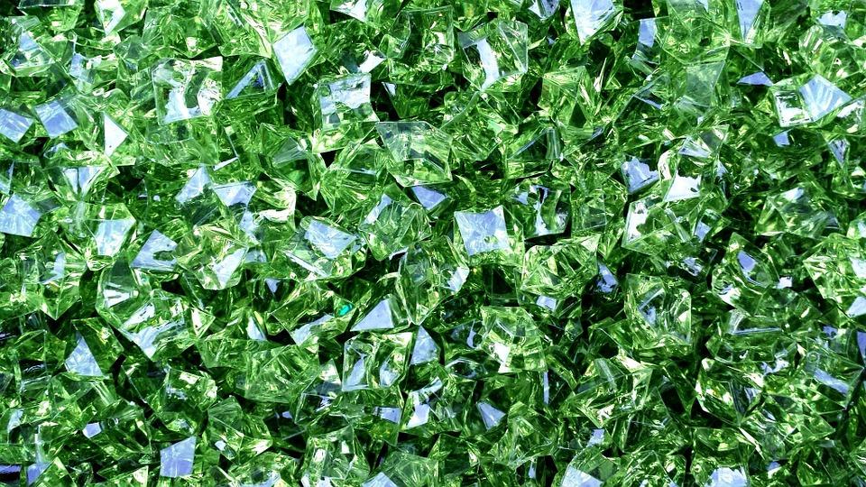 zelené diamanty